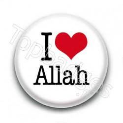 Badge I Love Allah