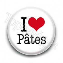 Badge I Love Pâtes