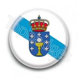 Badge Drapeau Galice