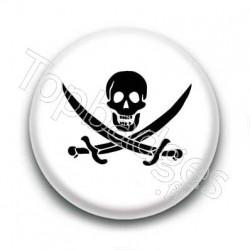 Badge Symbole Pirate