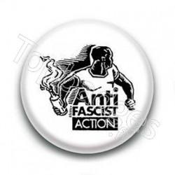 Badge Anti Fascist Action