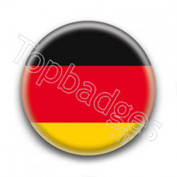 Badge Drapeau Allemagne