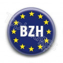 Badge BZH Fond Bleu