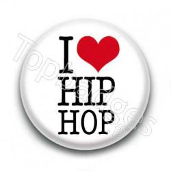 Badge I Love Hip Hop
