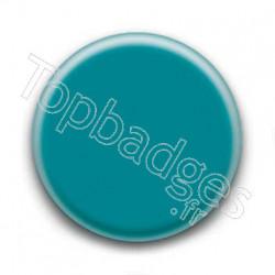 Badge bleu turquoise
