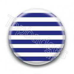 Badge Marinière bleu
