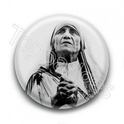 Badge Sainte Mère Teresa