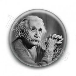 Badge Scientifique Albert Einstein