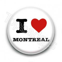Badge I Love Montreal