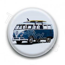 Badge mini bus retro