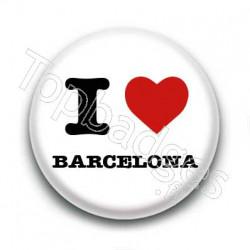 Badge I Love Barcelona