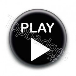 Badge icône play