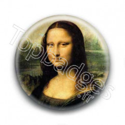 Badge : La Joconde, Léonard De Vinci