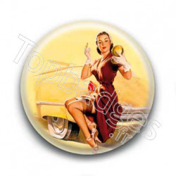 Badge : Pin'up maquillage