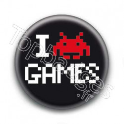 Badge I Love Games