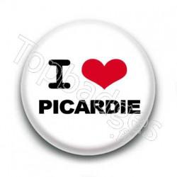 Badge I love Picardie