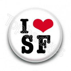 Badge I love SF