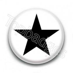 Badge etoile noire