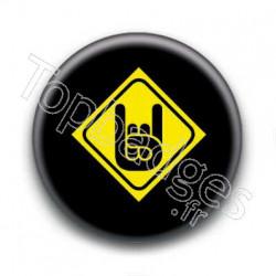 Badge Rock horns