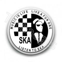 Badge Ska music is life live a fun one