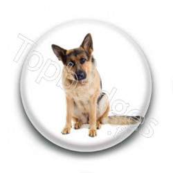 Badge : Chien berger allemand