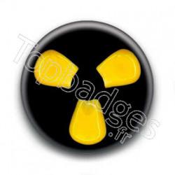 Badges logo nucléaire mais