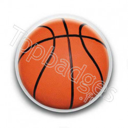 Badge ballon basket