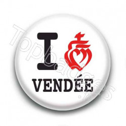 Badge I love Vendée