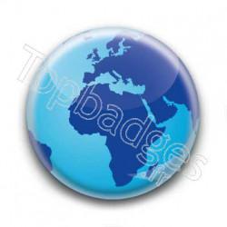 Badge Globe 3