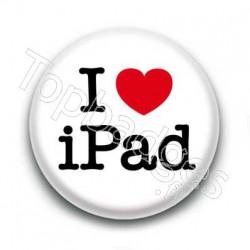 Badge I love ipad
