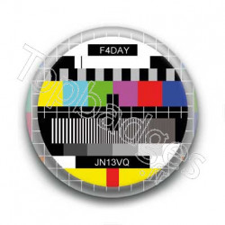Badge mire television