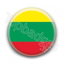 Badge drapeau Lituanie