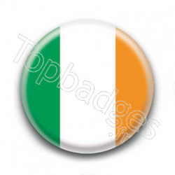 Badge drapeau Irlande
