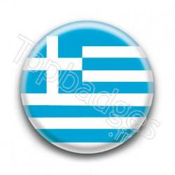 Badge drapeau de la Grèce