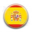 Badge drapeau Espagne