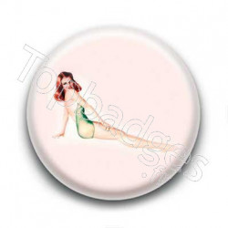 Badge pin up