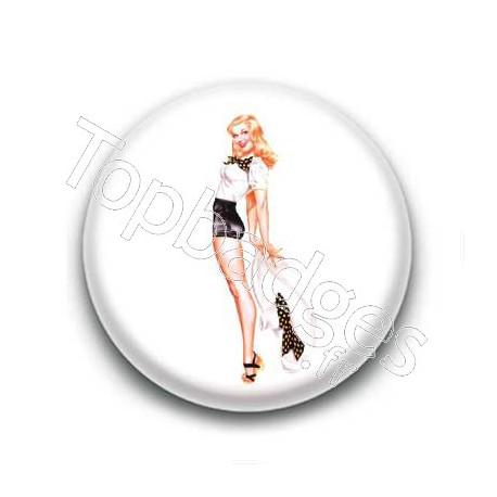 Badge : Pin'up short