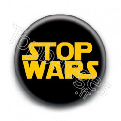 Badge : Stop wars