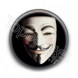 Badge masque anonymous