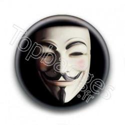 Badge masque anonymous
