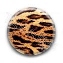 Badge motif guépard
