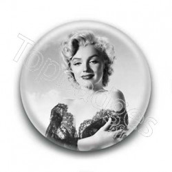 Badge Actrice Marilyn Monroe