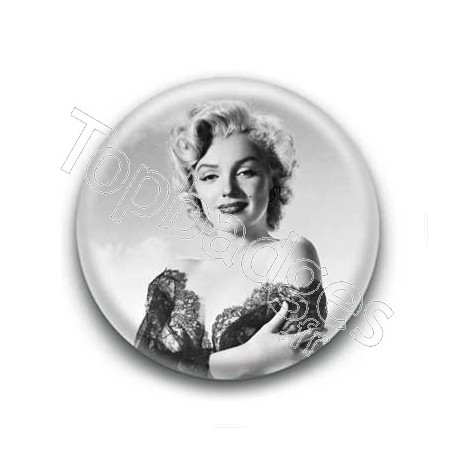 Badge : Actrice Marilyn Monroe