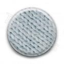 Badge laine grise