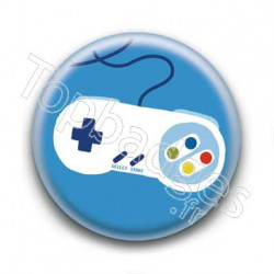 Badge Manette Nintendo Super Nes