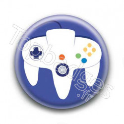 Badge Manette Nintendo 64