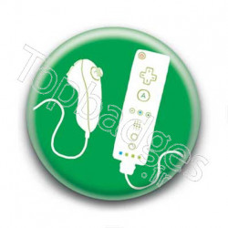 Badge Manette Nintendo Wii