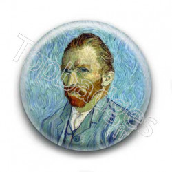 Badge Van Gogh - Autoportrait