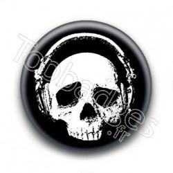 Badge Tête de mort