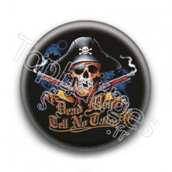 Badge Crâne Pirate